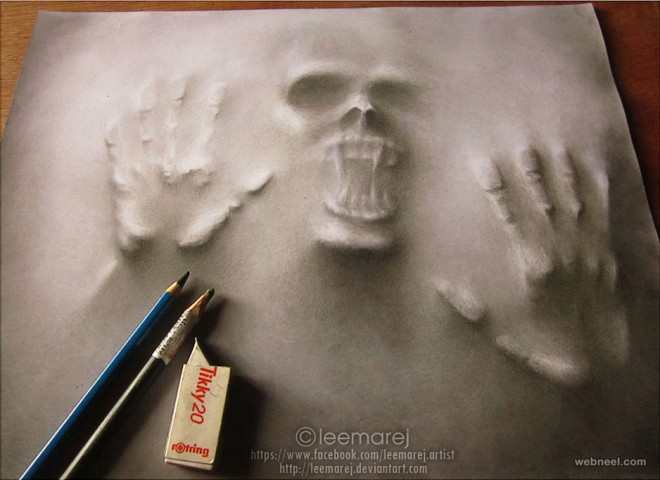 3d art drawing by leemarej