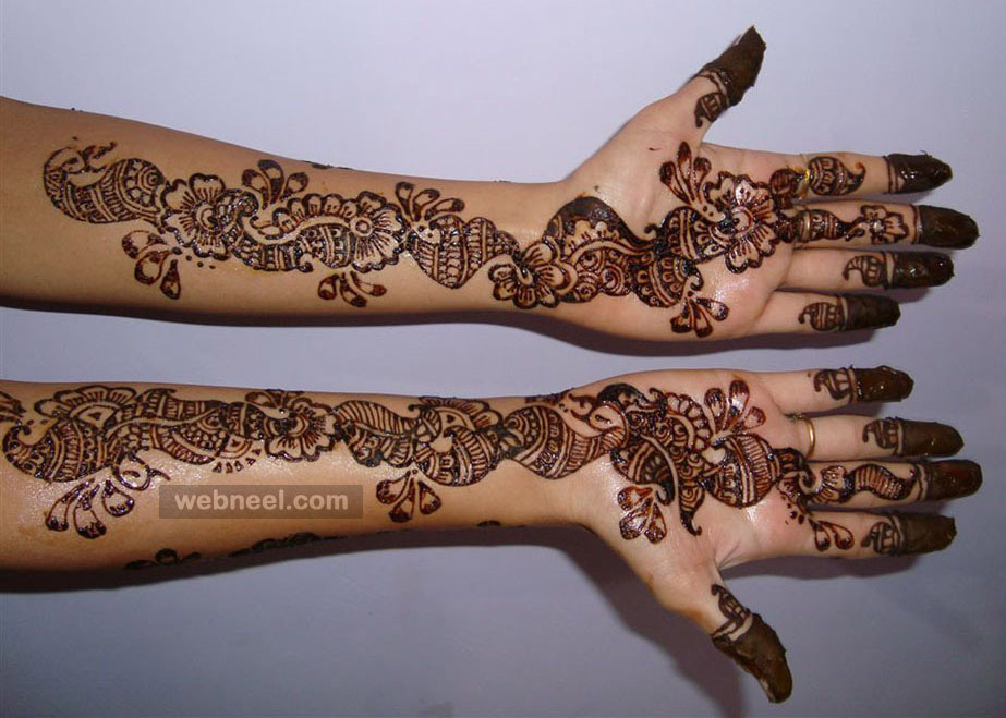 Mehndi Design Full Hand 8