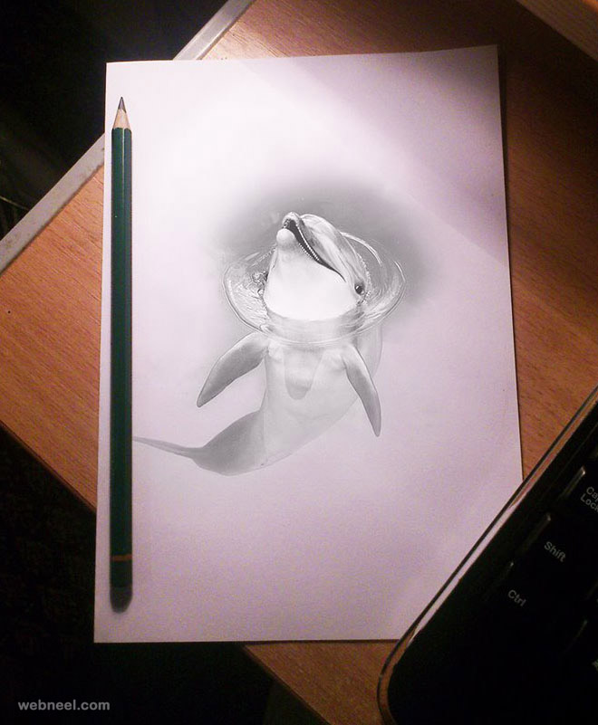 3d drawing pencil 25 beautiful 3d pencil drawings and 3d works part 2 949