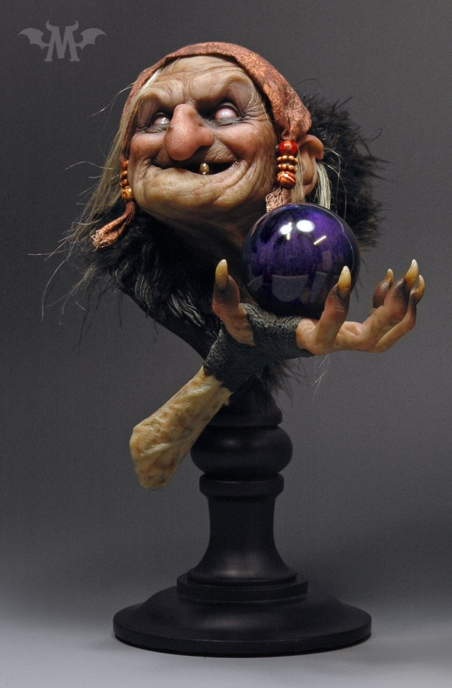 witch 3d models by andy bergholtz