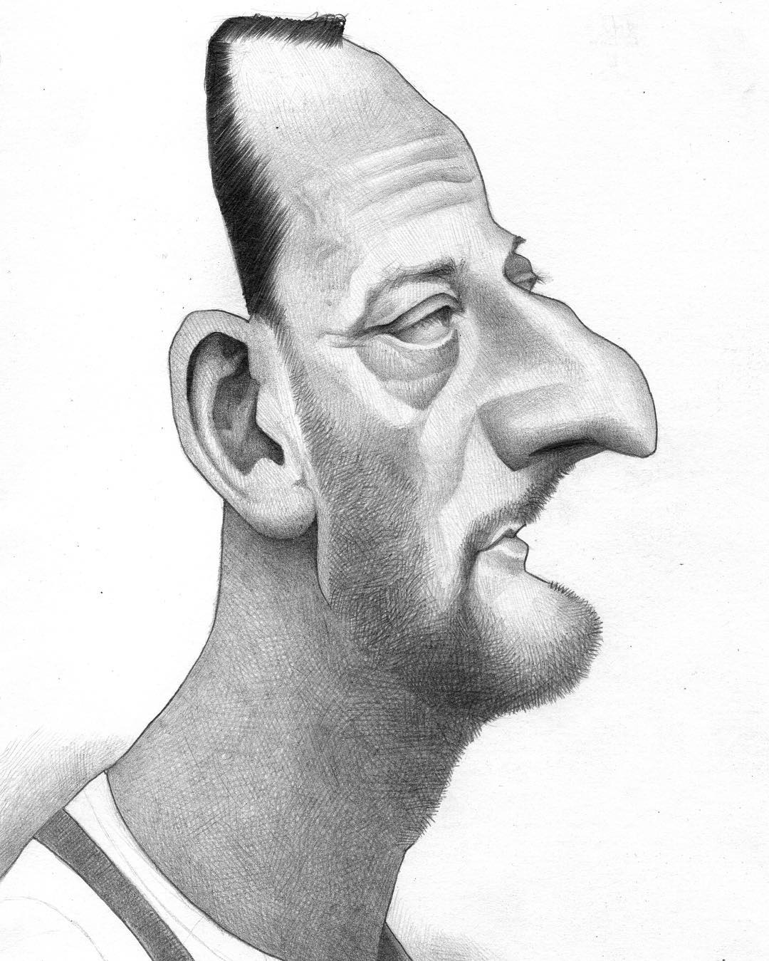 flathead caricatures by efrain malo