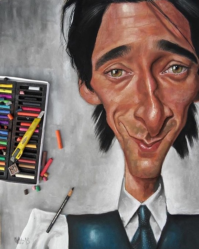 laugh caricatures by efrain malo