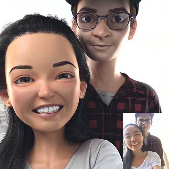 3d pixar character by lance phan