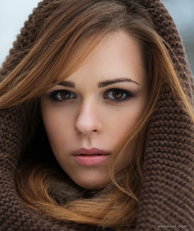 beautiful woman by witson