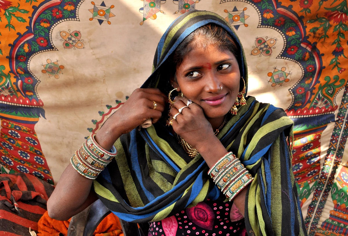 beautiful woman india by nirmaldayani