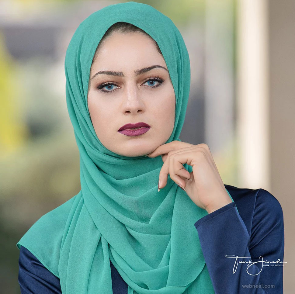 beautiful woman muslim