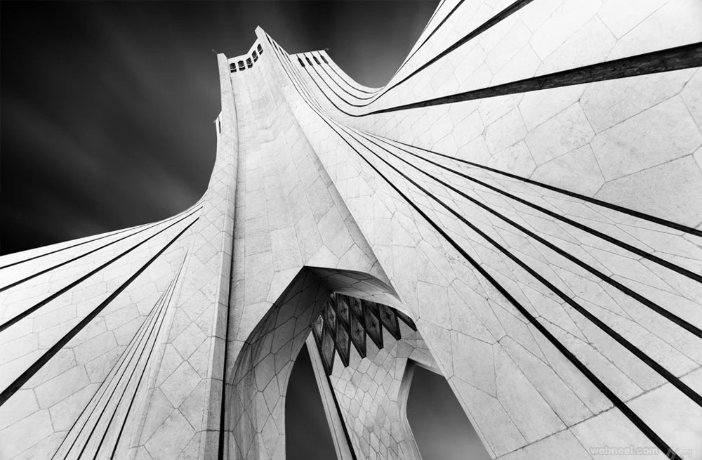 black and white photography abstract iran gateway by mrafiee
