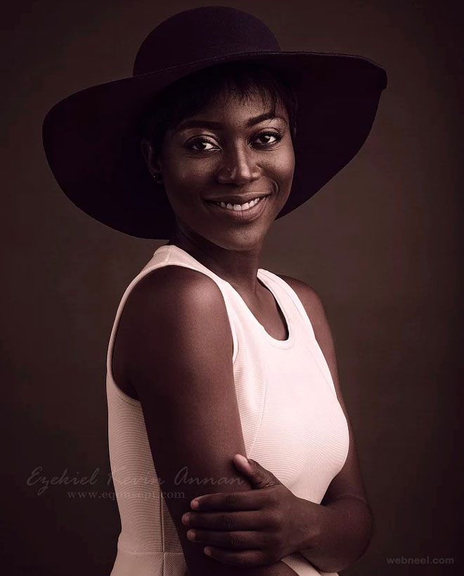 beautiful woman africa by eqonsept