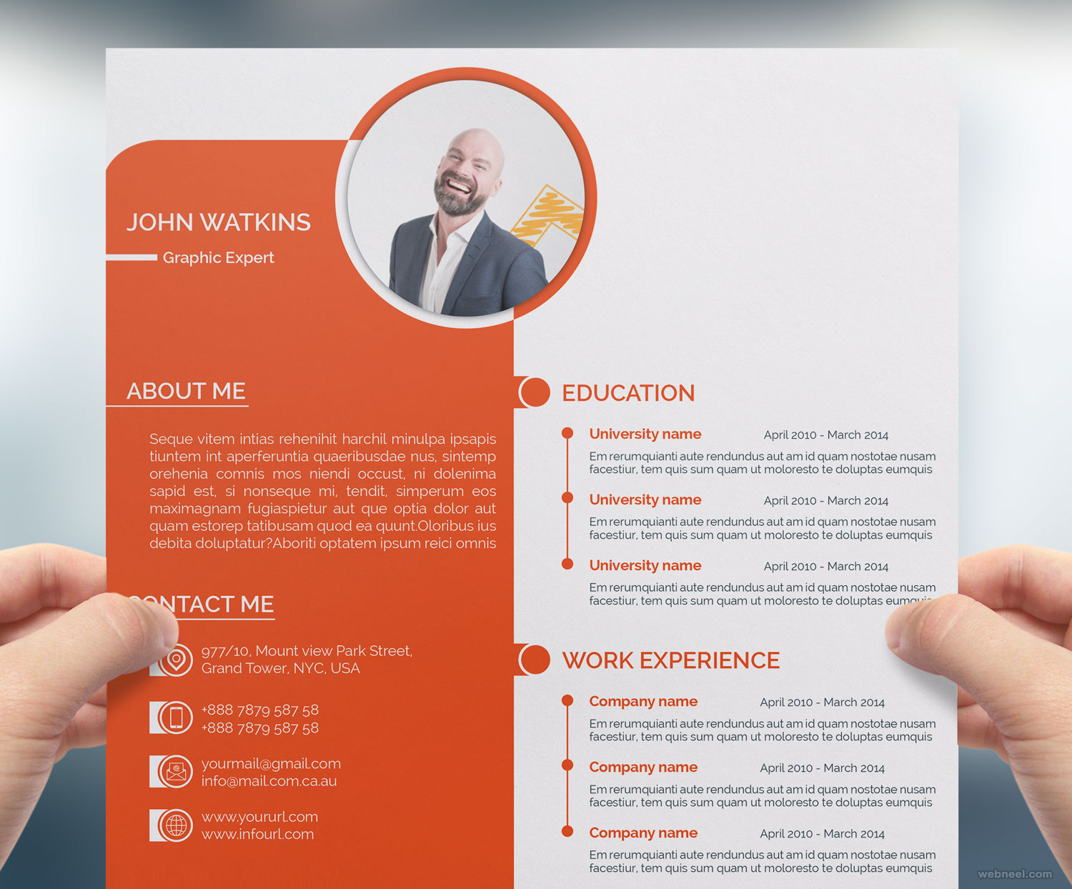 resume design by shiblysadiqsifat
