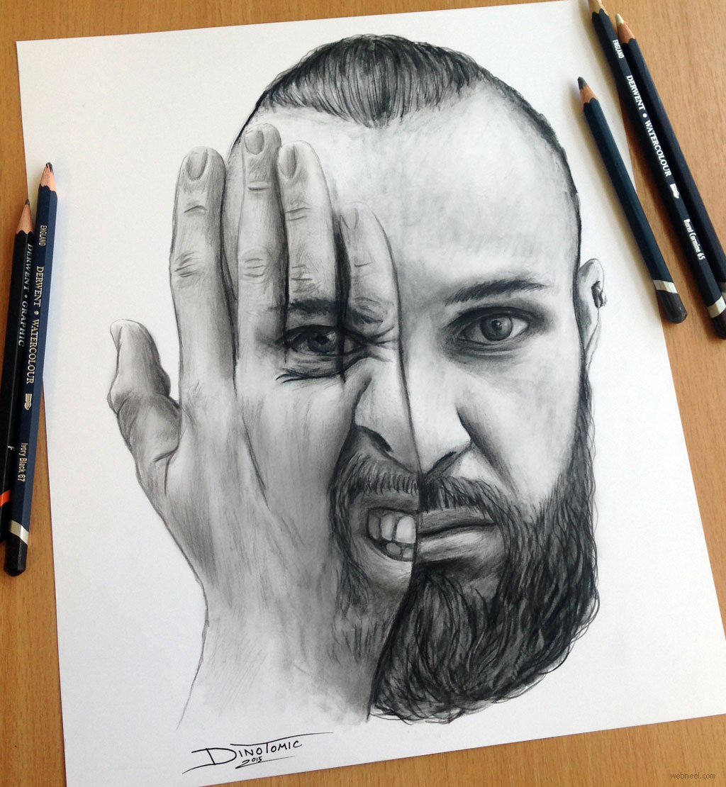 pencil drawing by atomiccircus