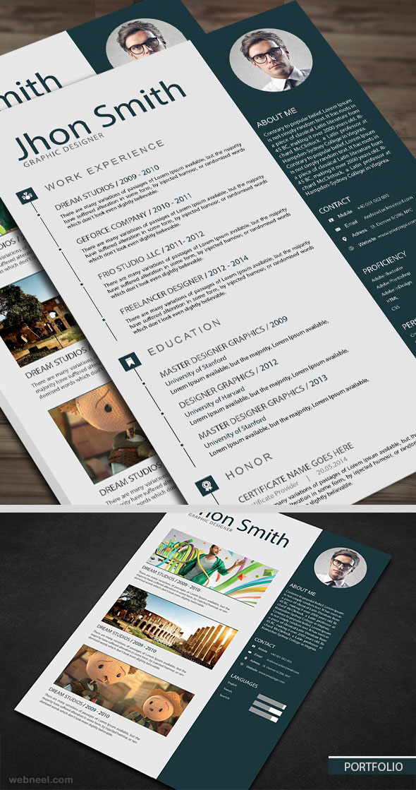 sample resume design