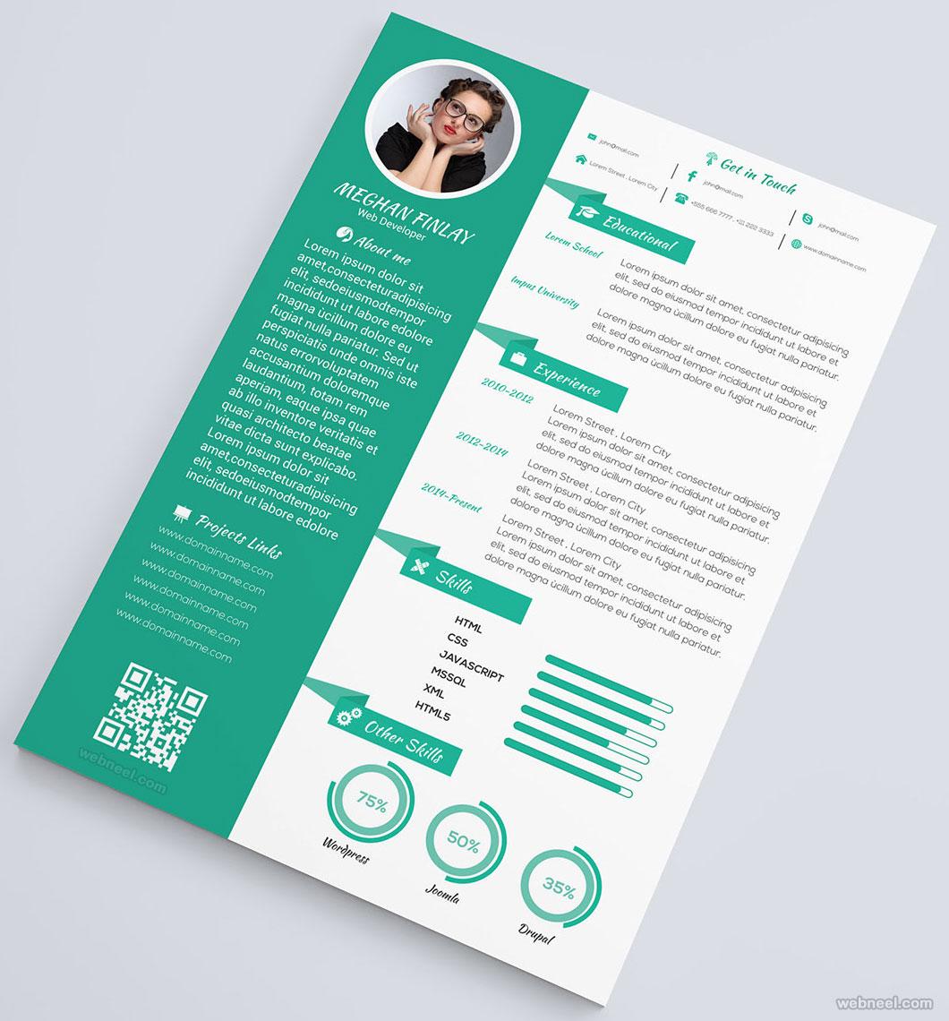 resume design by jonayedhossain