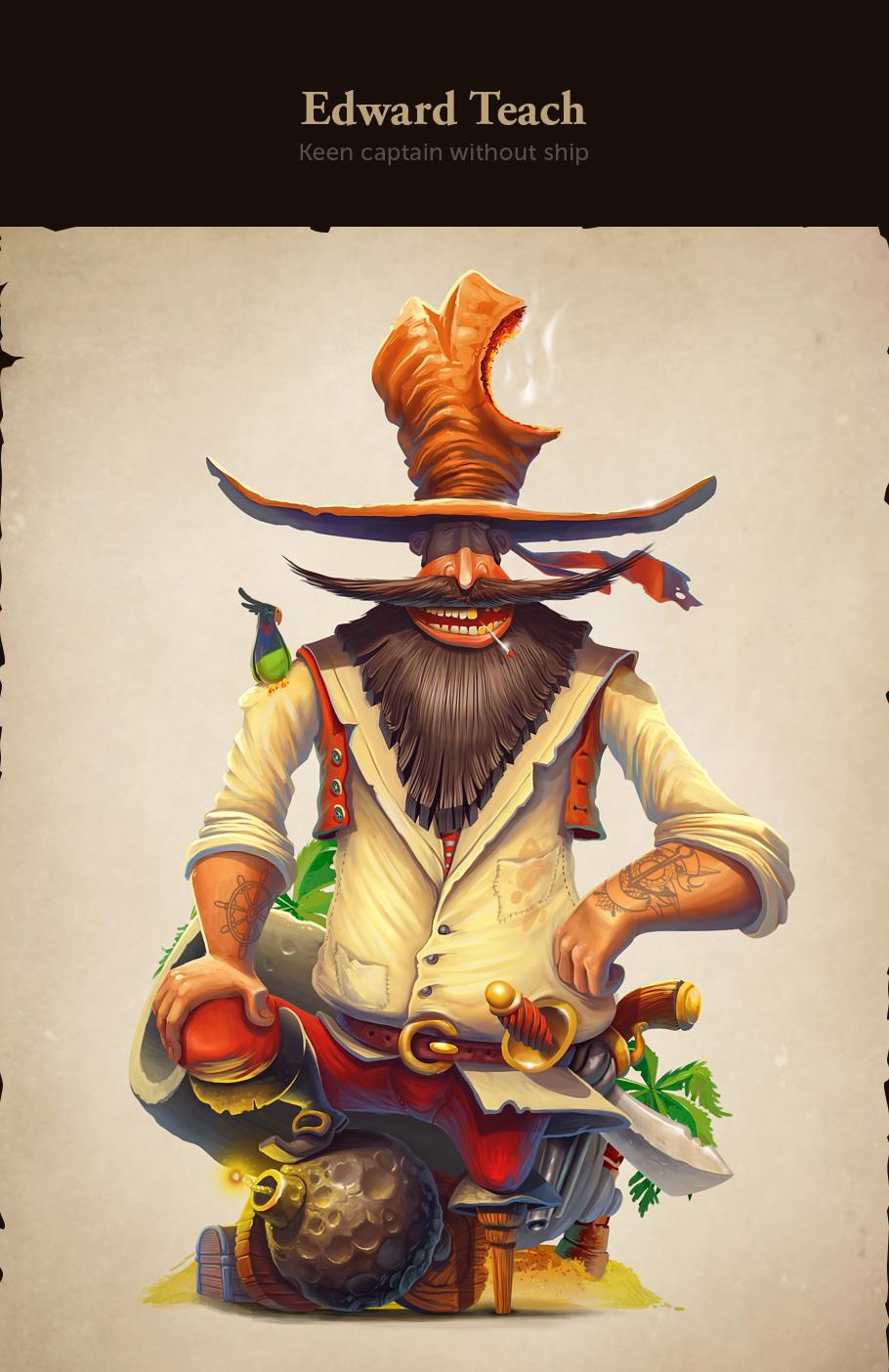 character design digital art by inkration studio
