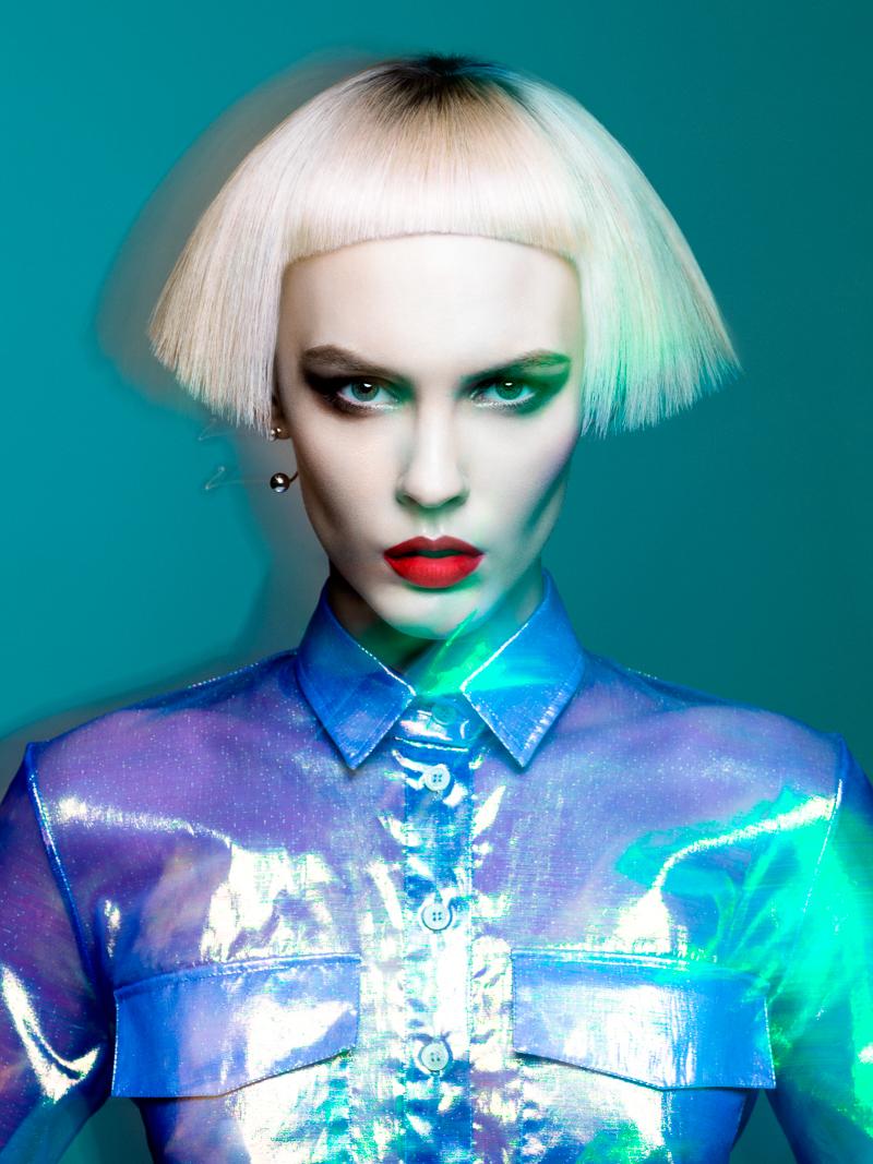 fashion photography faces by yulia gorbachenko