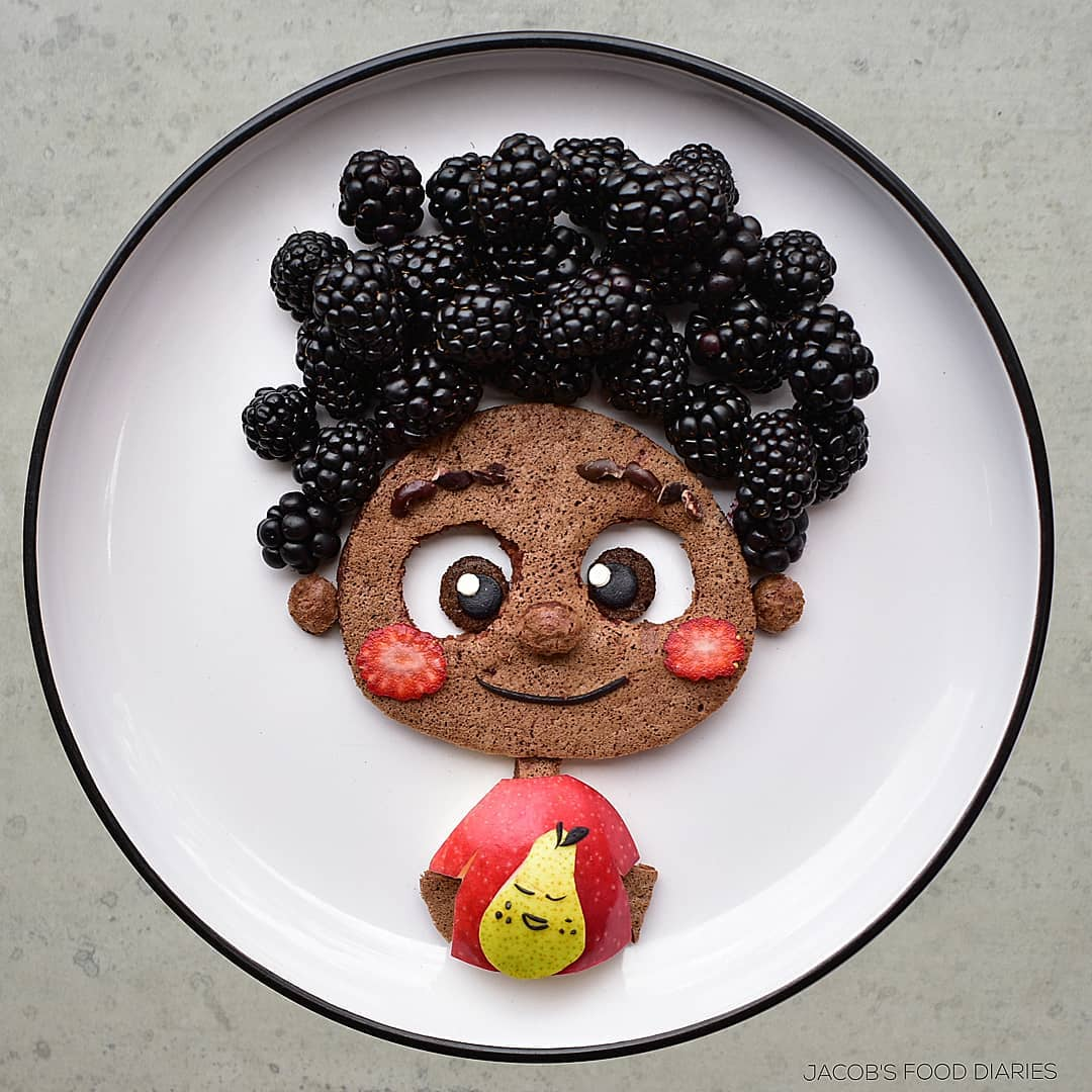food art boy by laleh mohmedi