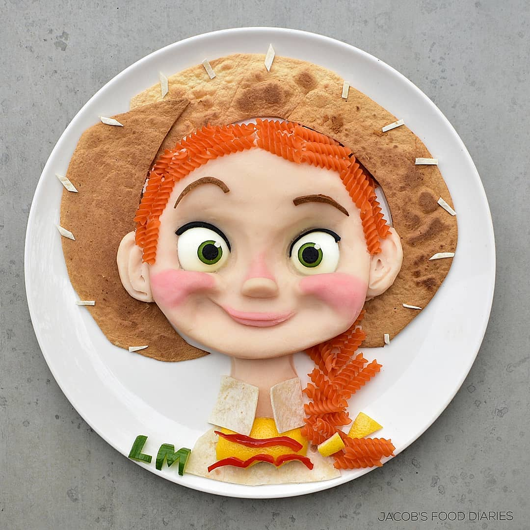 food art jessie by laleh mohmedi