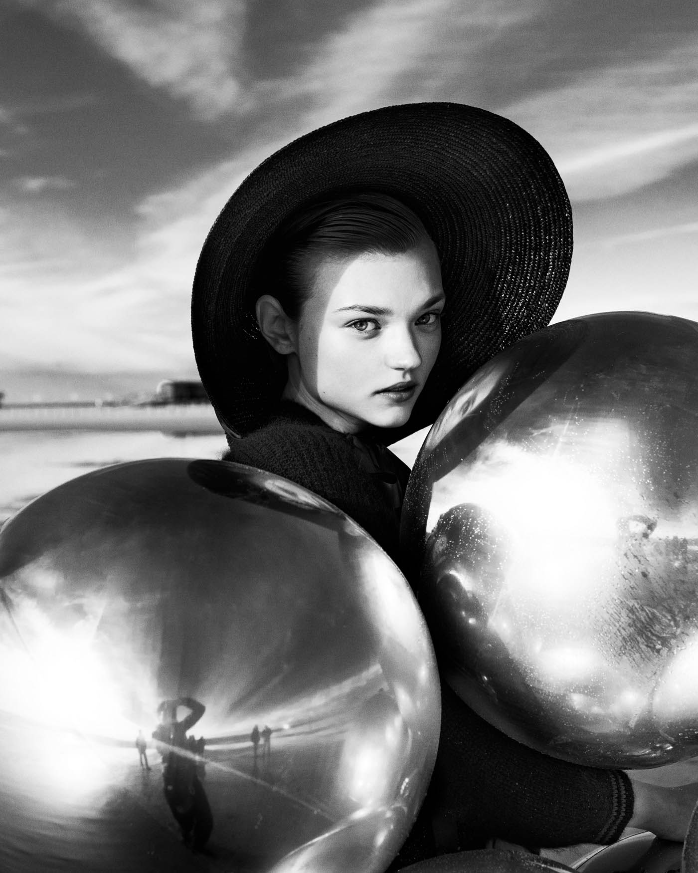 fashion photography silver by elizaveta porodina