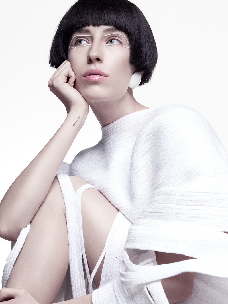 fashion photography white by yulia gorbachenko