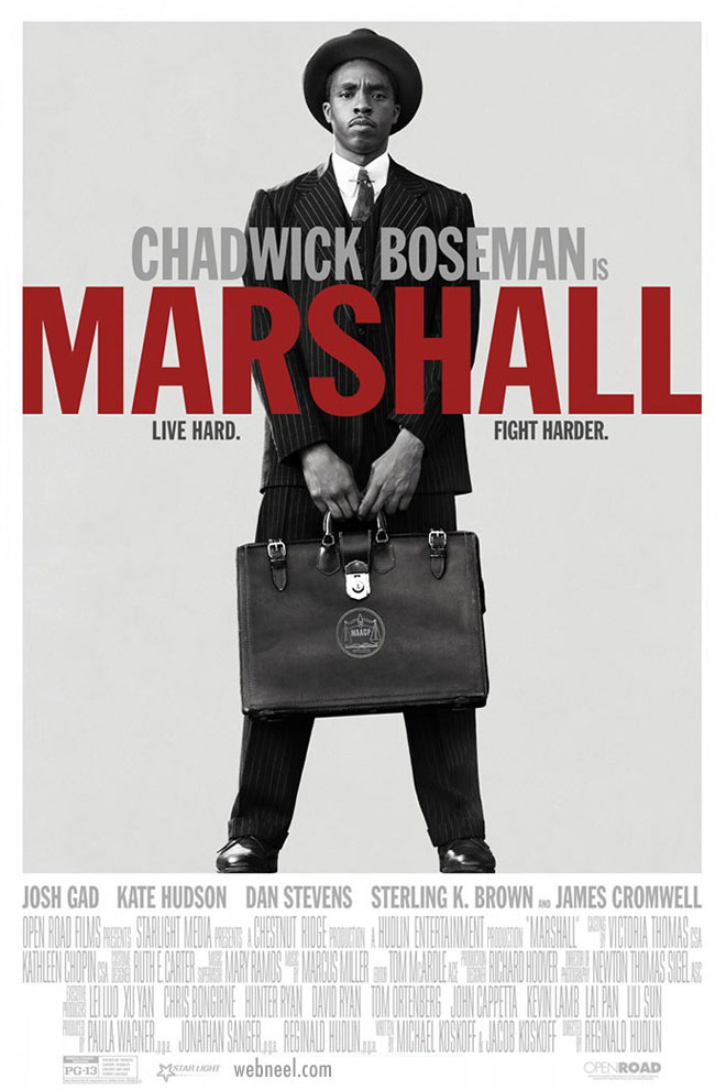 movie poster design marshall typography