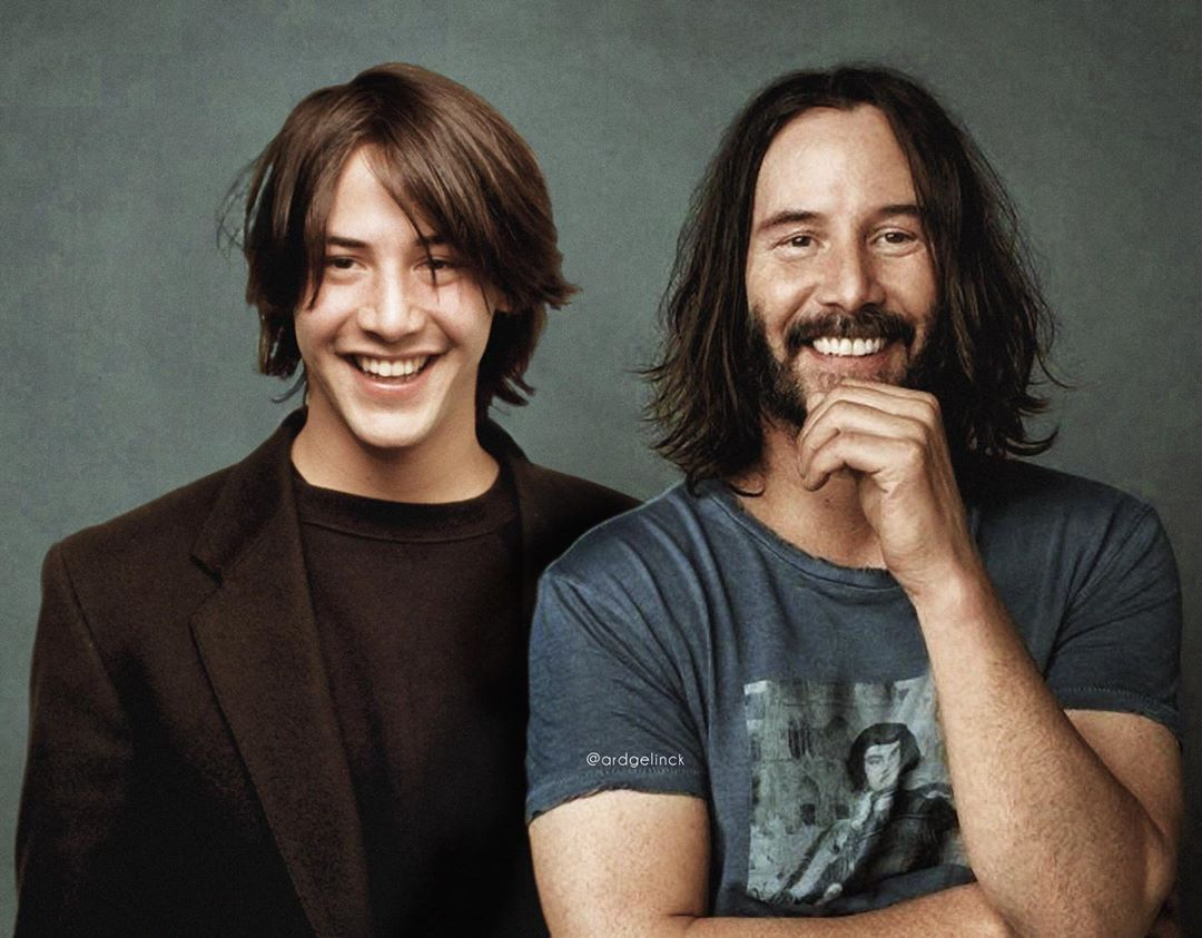 photo manipulation celebrity keanu reaves
