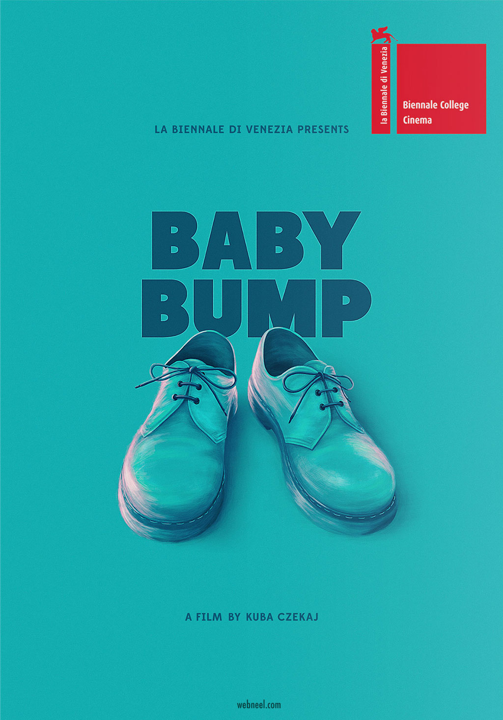movie poster design baby bump iconography