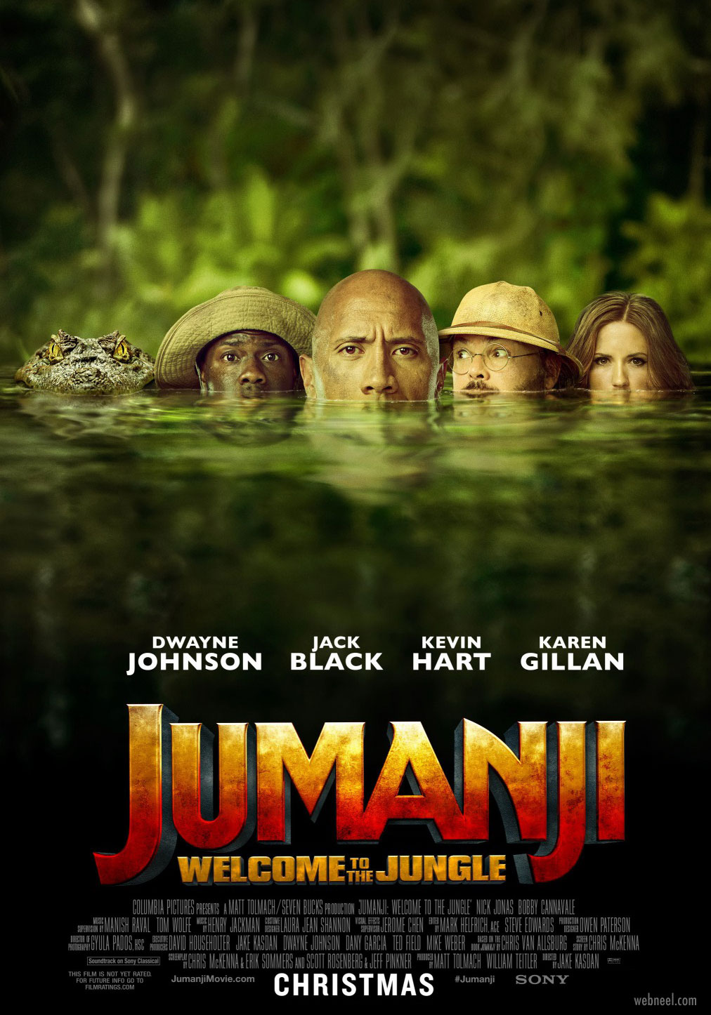movie poster design jumanji piqued