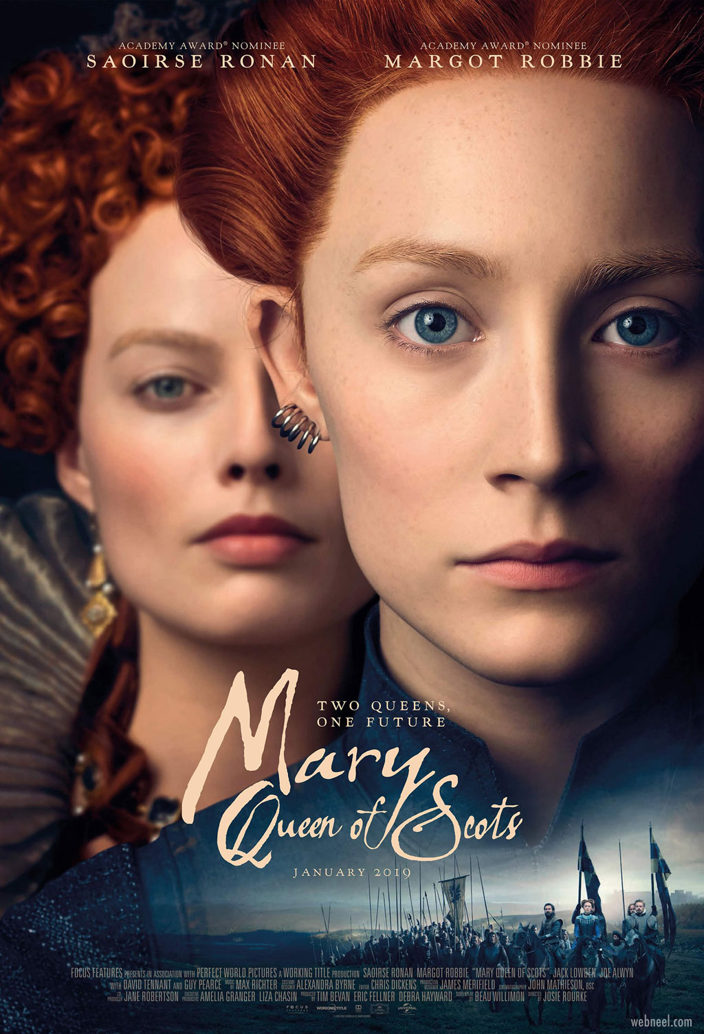 movie poster design mary queen scots relationship
