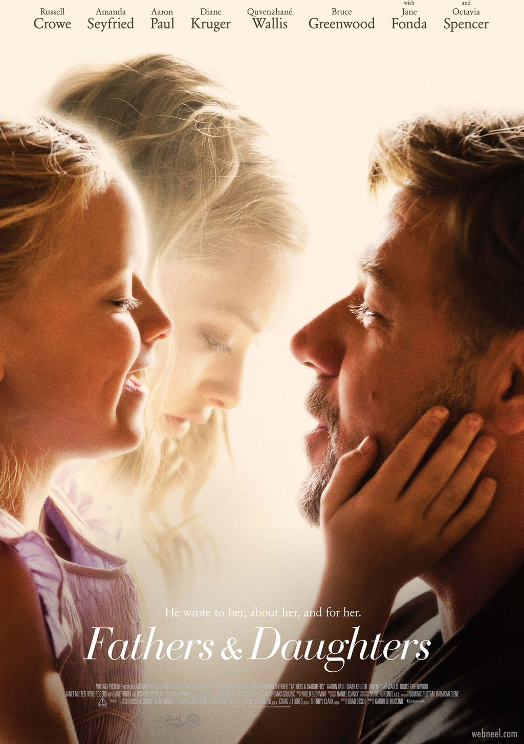 movie poster design fathers daughters relationship