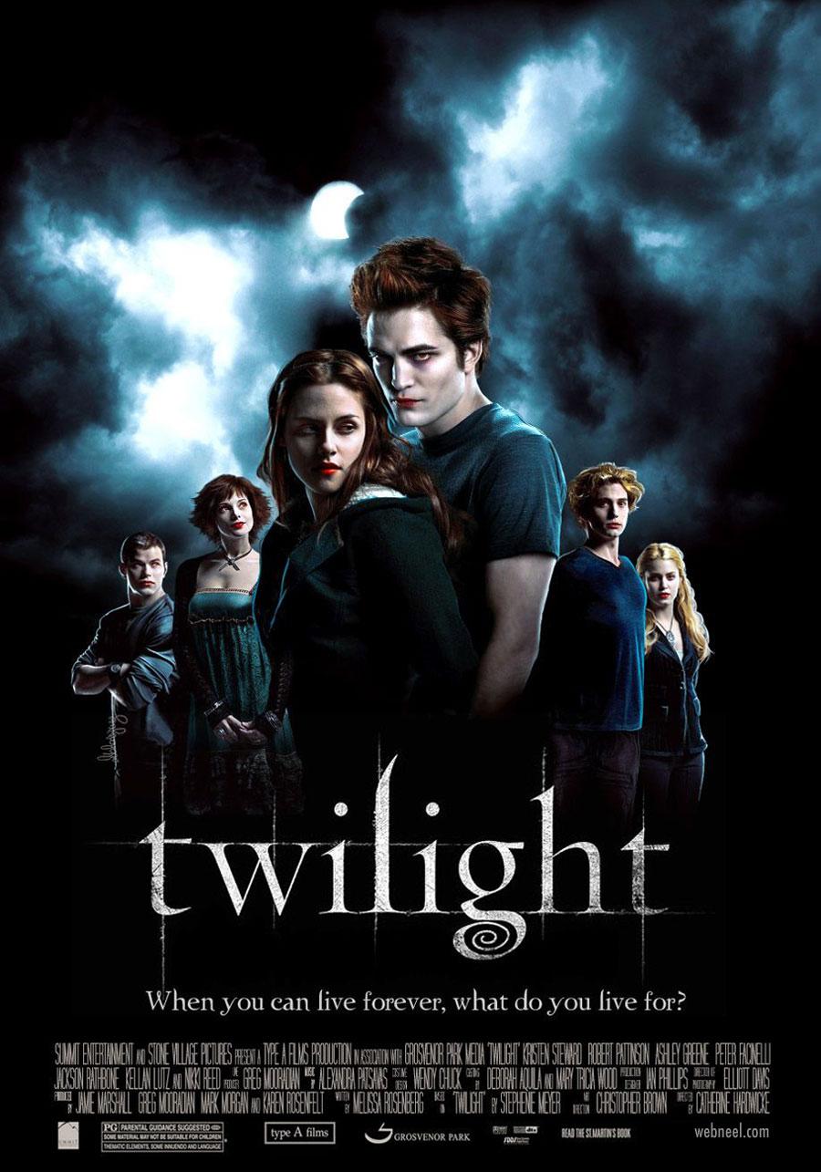 movie poster design twilight book adaptation