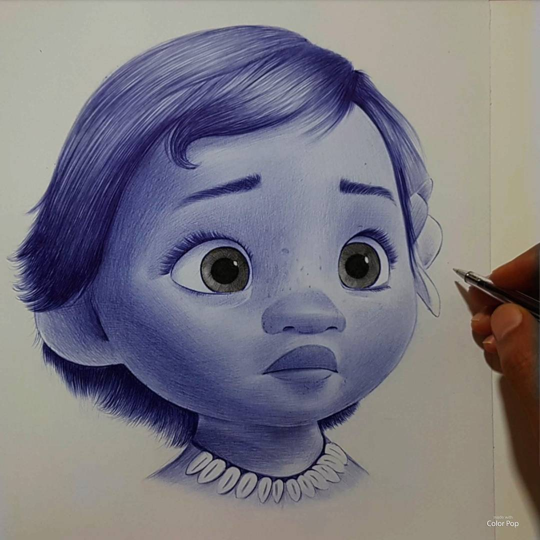drawing moana