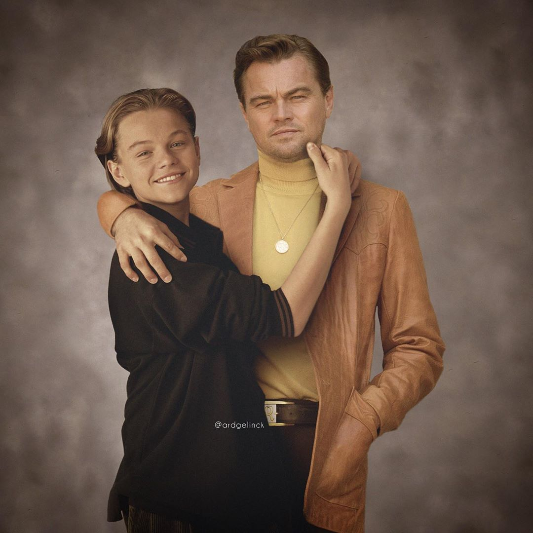 photo manipulation celebrity leonardo dicaprio by ard gelinck