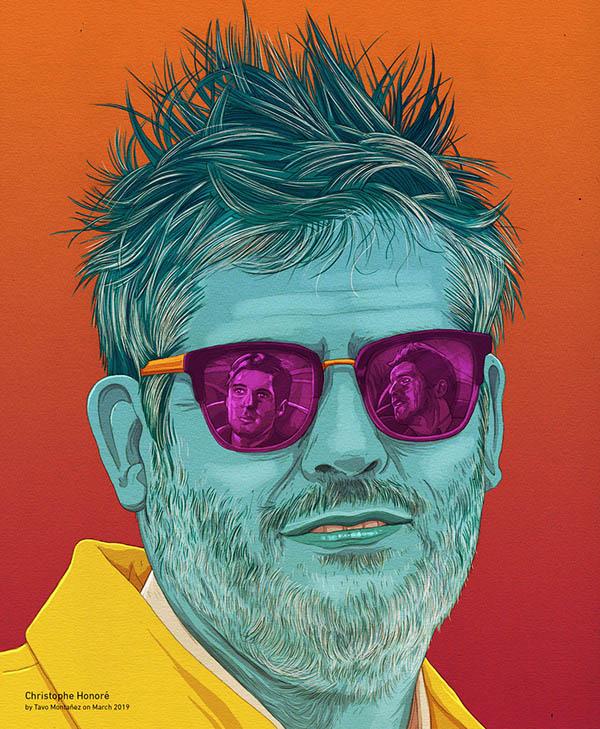 digital art illustration christophe honore