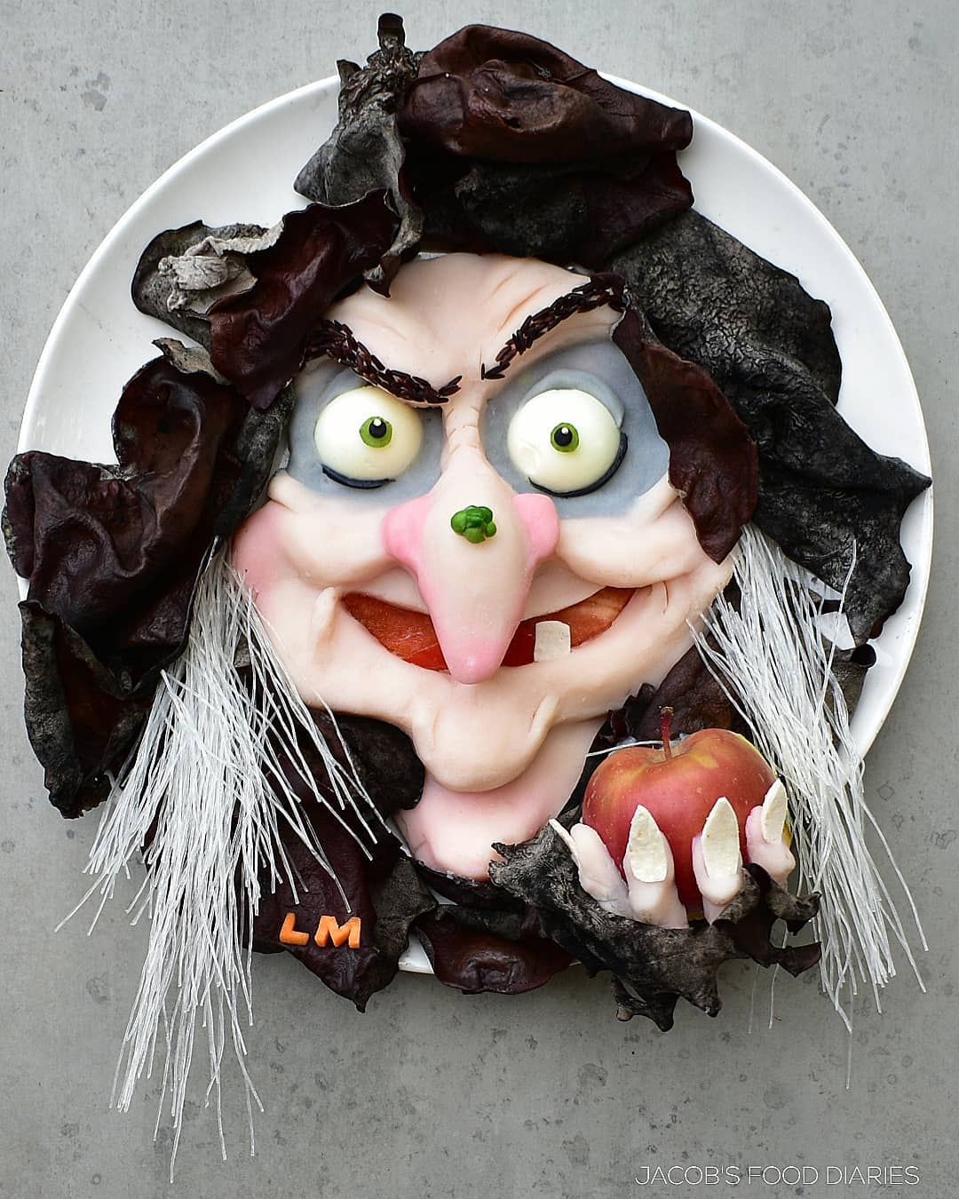 food art witch by laleh mohmedi