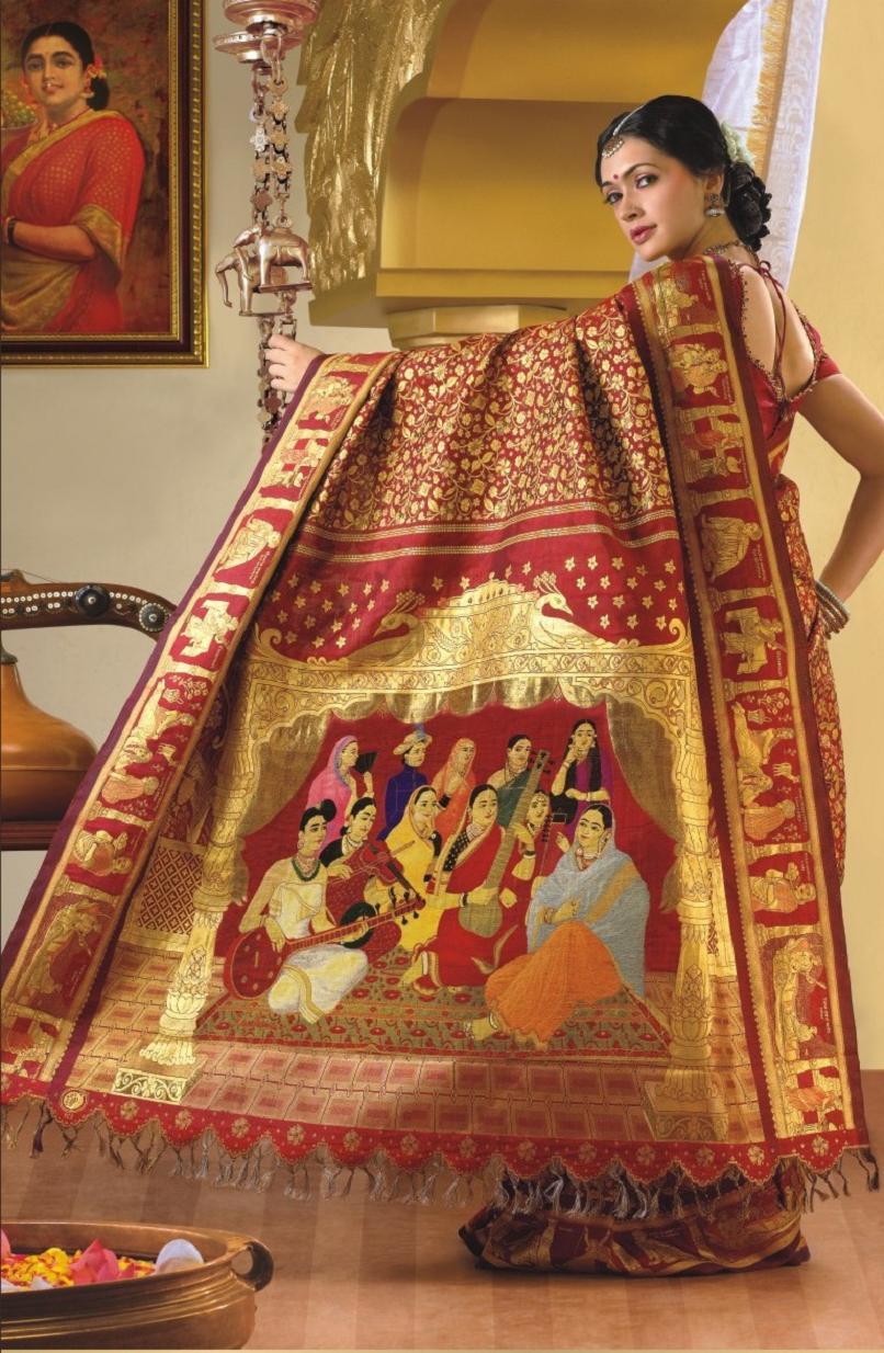 onam mural saree singers