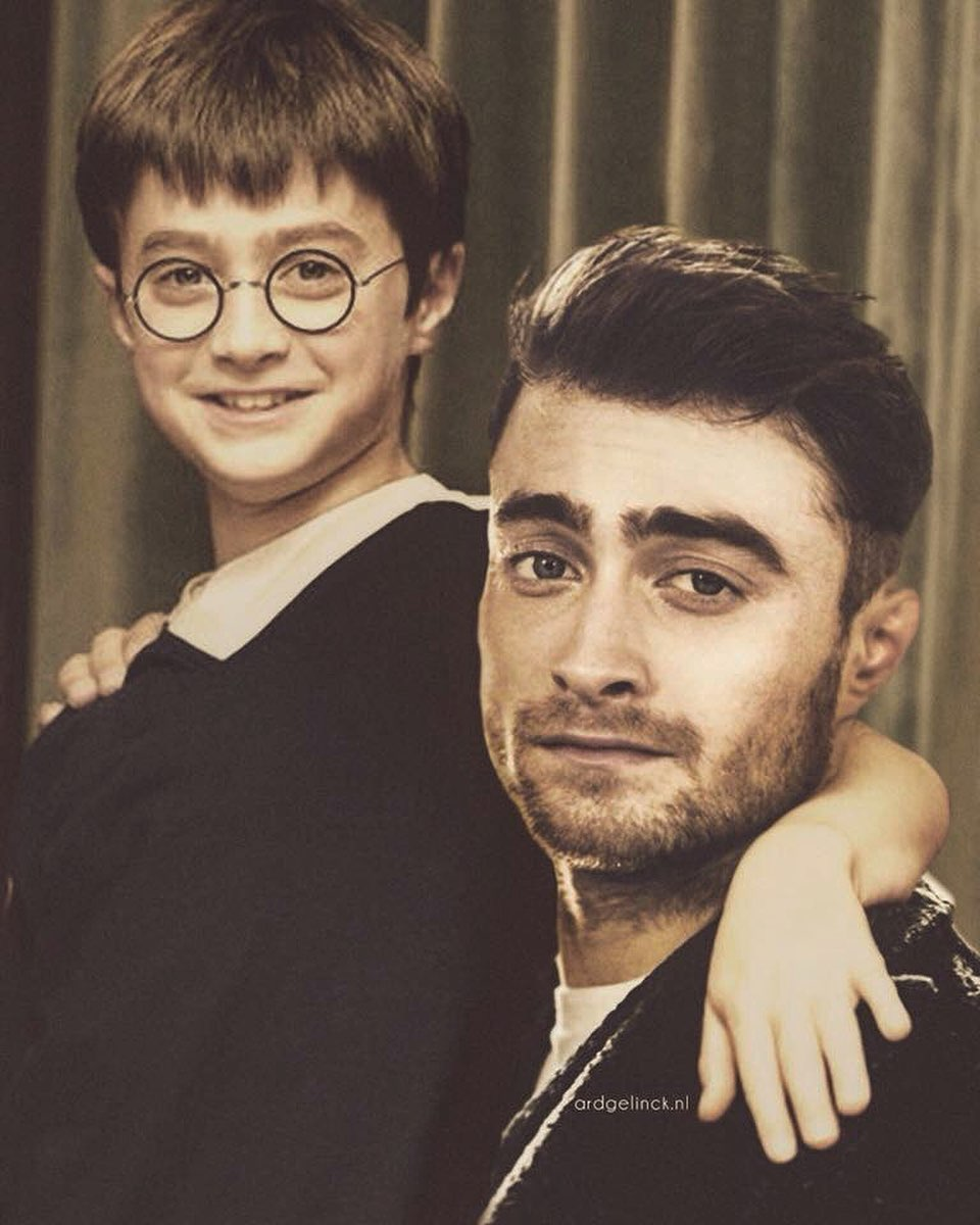photo manipulation celebrity daniel radcliffe by ard gelinck