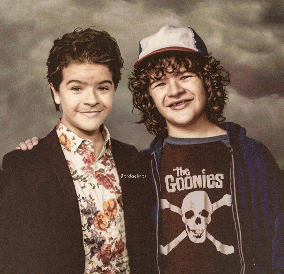 photo manipulation celebrity gaten matarazzo