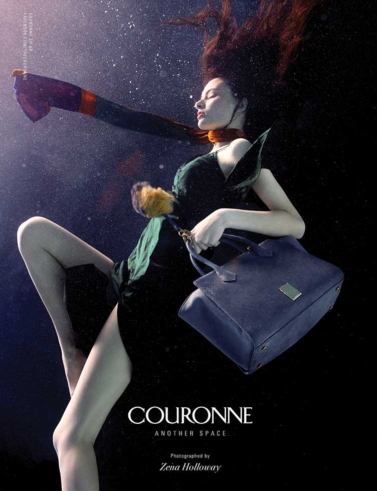 underwater photography advertising fashion