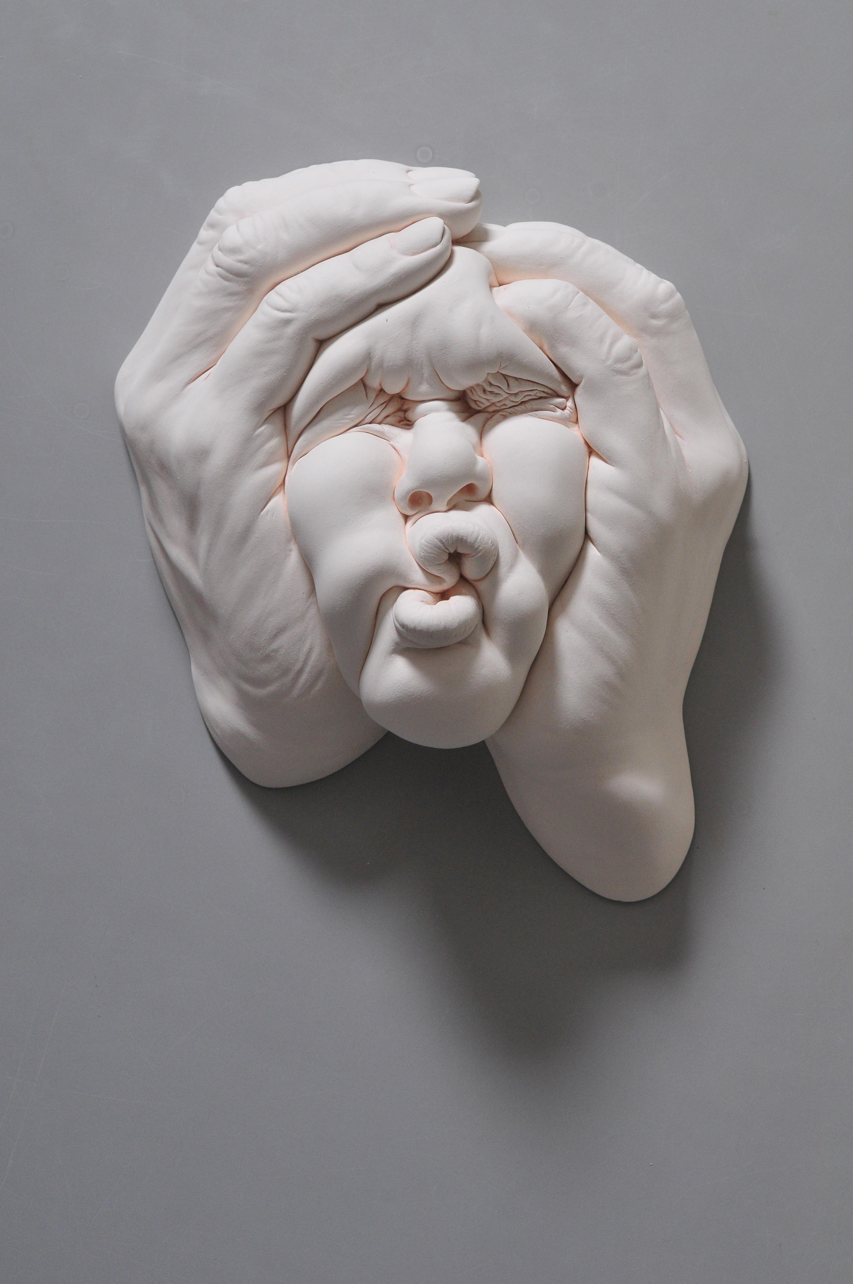 ceramic sculpture squish by johnson tsang