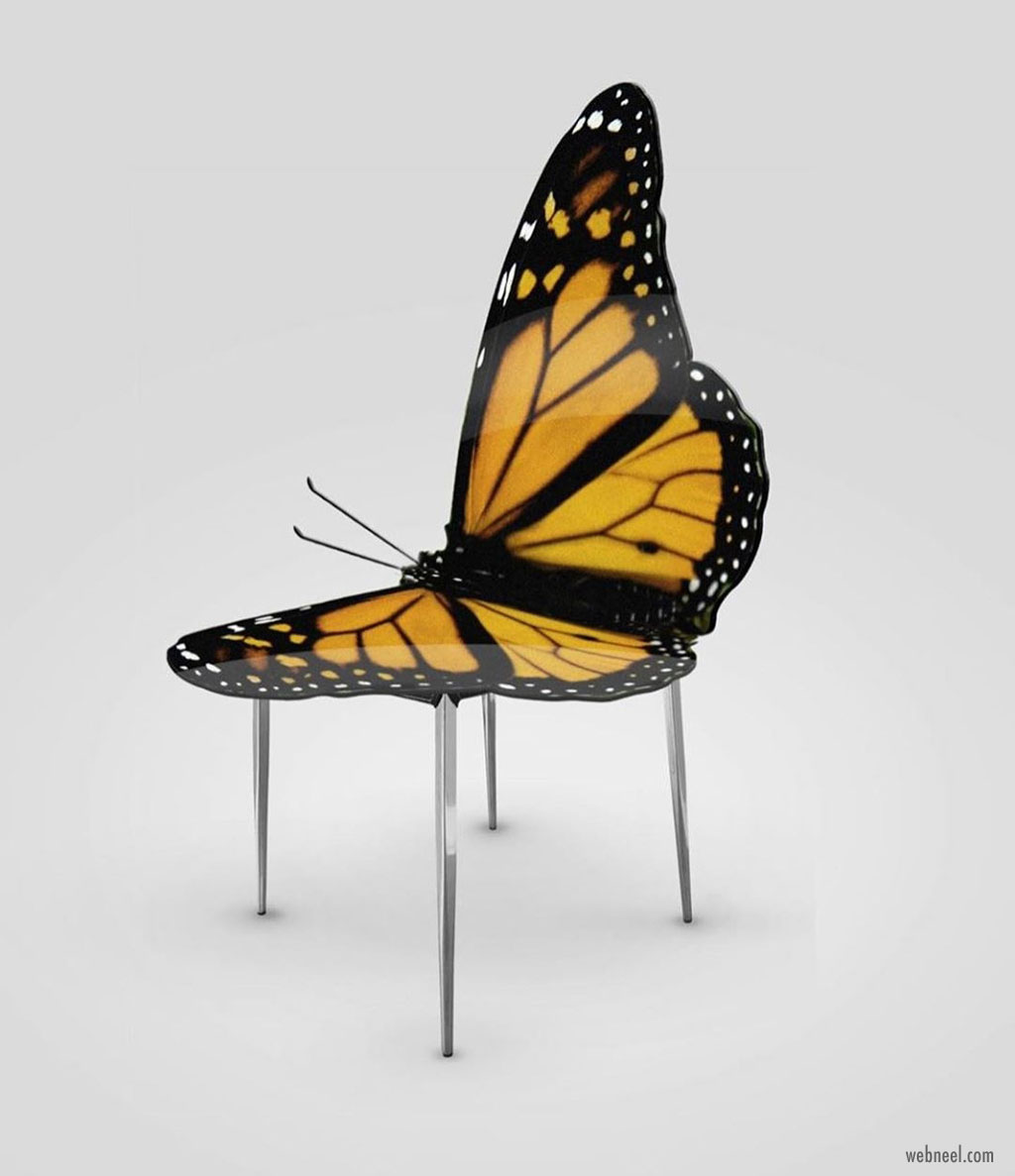 design butterfly chair by haris jusovic