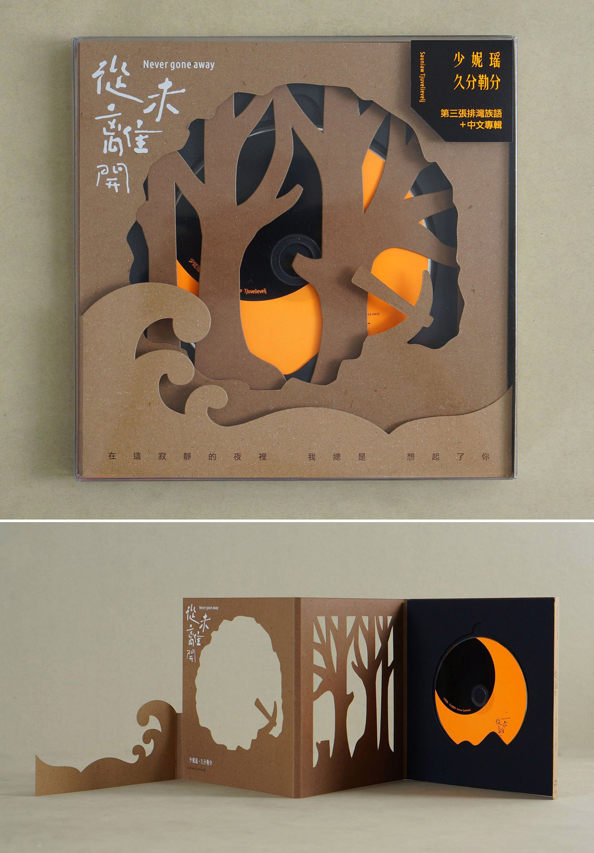 die cut brochure design