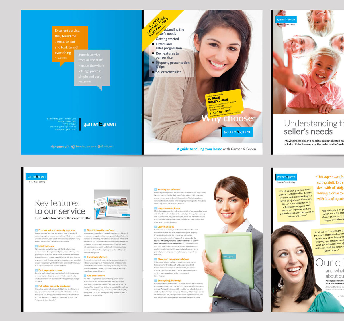 sales brochure design sample