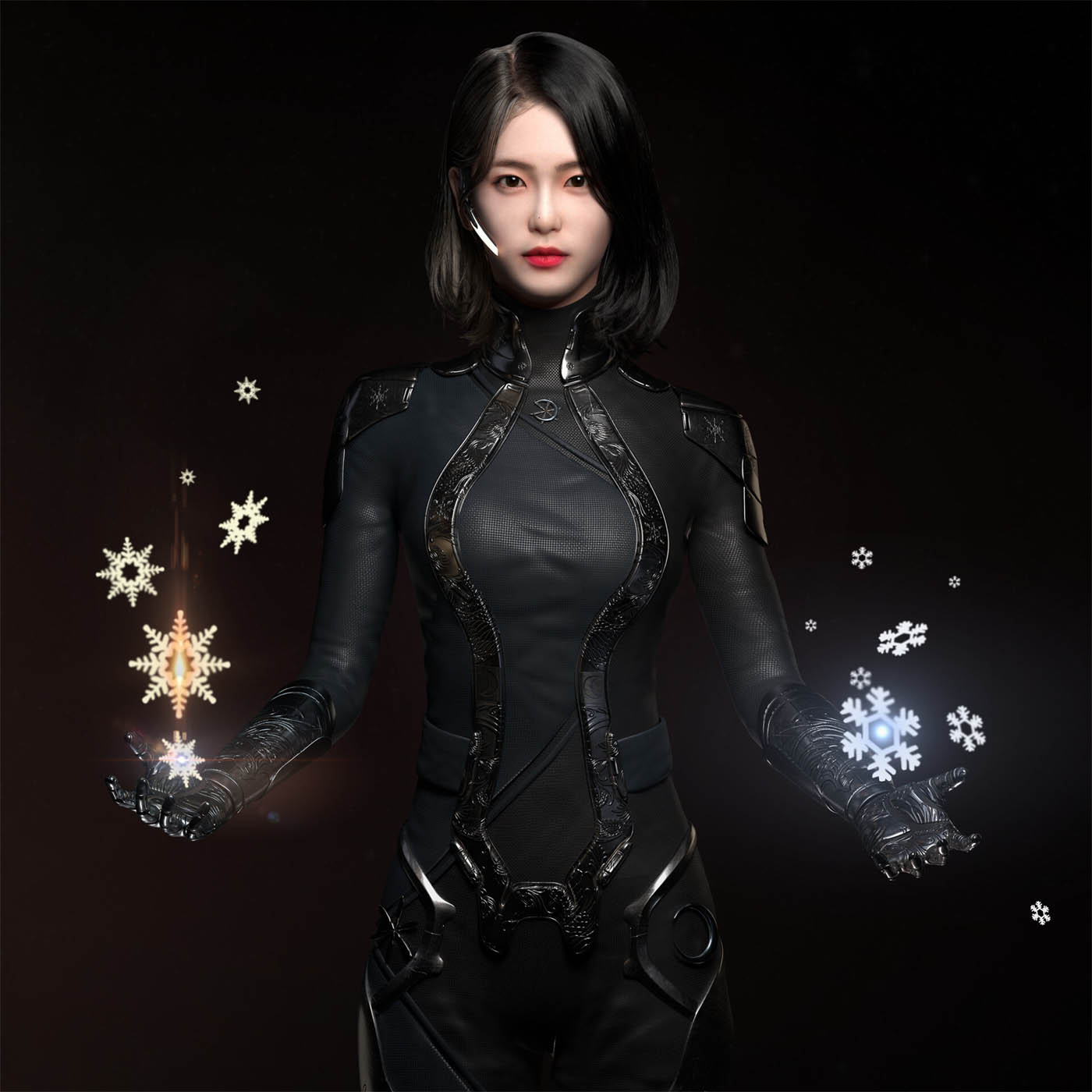 3d model woman by dong young hwang