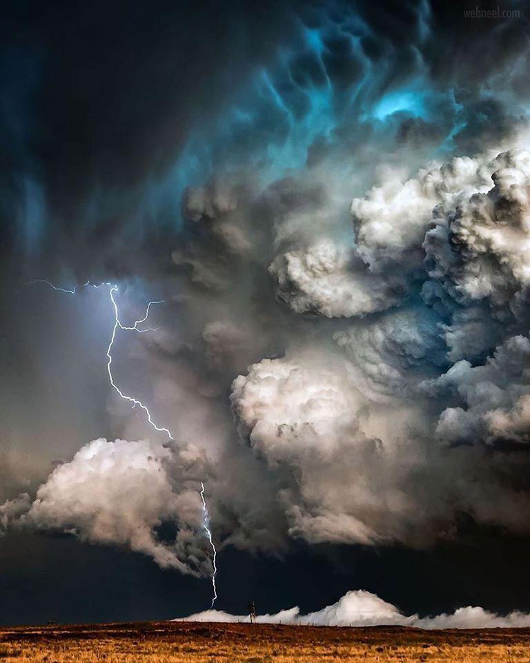thunder storm photography clouds by adamkylejackson