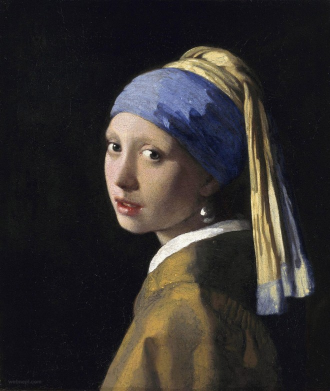 girl with a pearl earring vermeer paintings