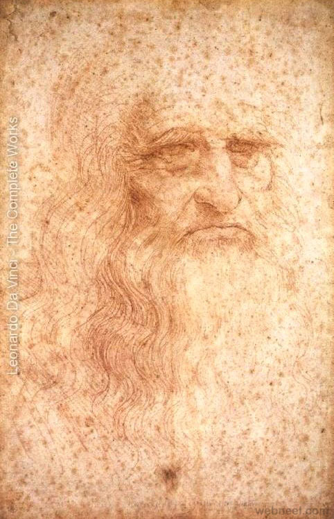 da vinci self portrait