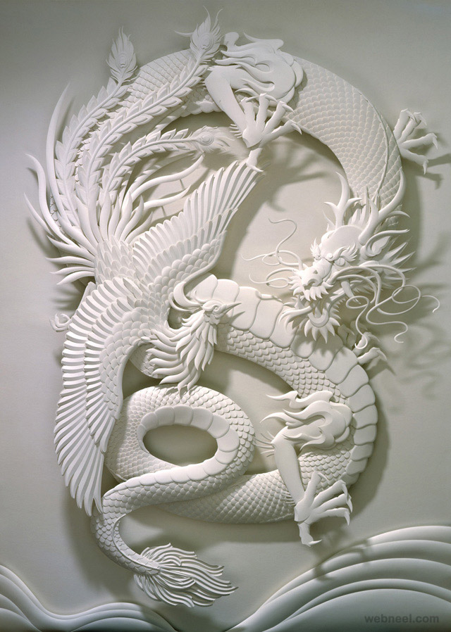 30 Creative And Beautiful Paper Sculptures By Calvin Nicholls