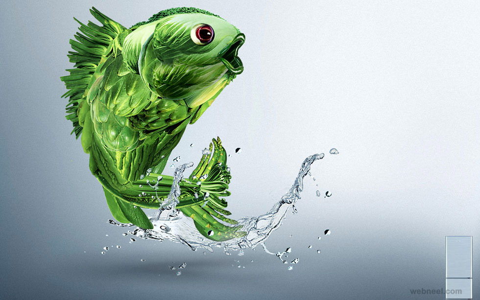 creative ads fish