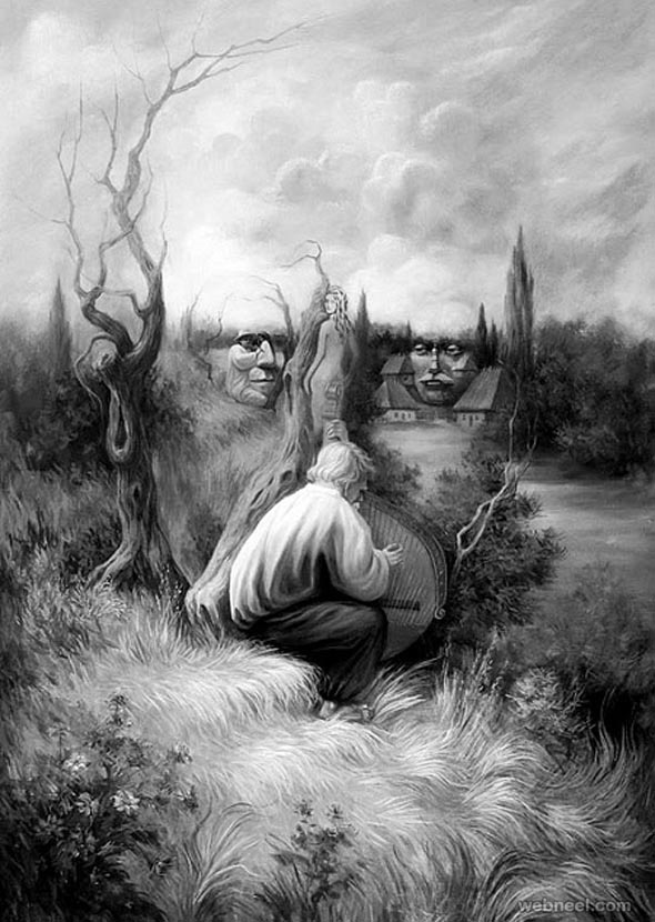 oleg shuplyak illusion art