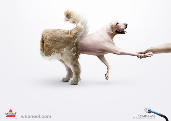 creative ads bissell inside out