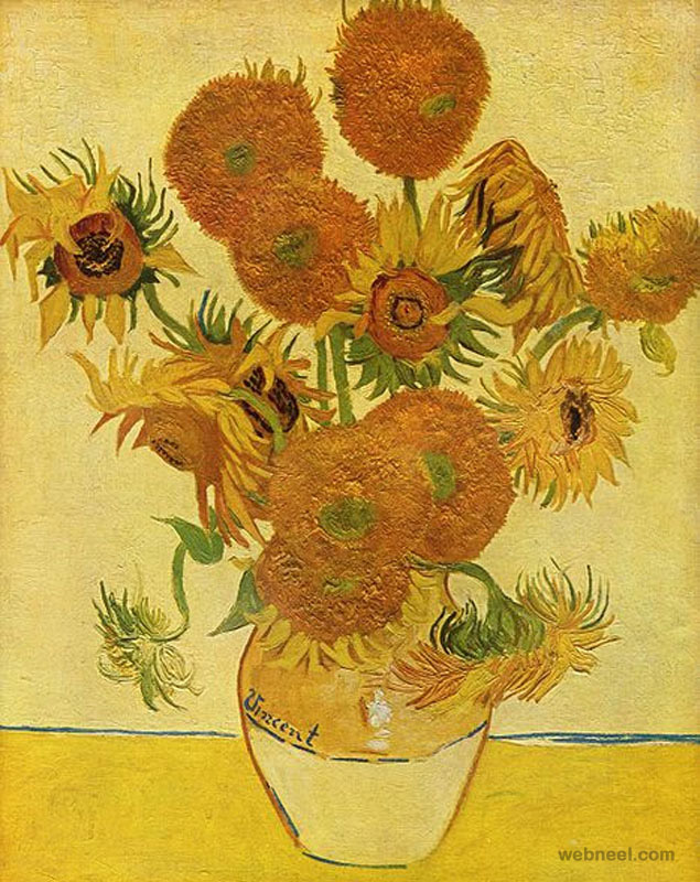 most expensive painting sunflowers